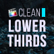 Clean Lower Thirds for Final Cut Pro X