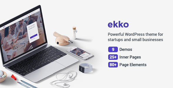Ekko – Business MultiPurpose WordPress Theme (Business) images