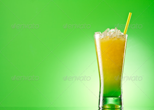 Kivi Pina colada drink - Stock Photo - Images