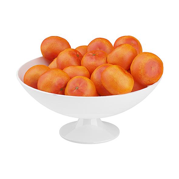 3DOcean Bowl of Tangerines 19677935