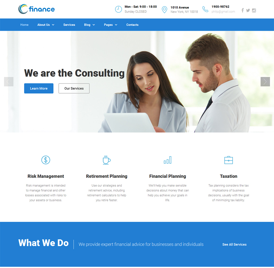 website consultants