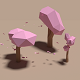 Sakura Tree Low Poly
