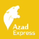 Azad, Trucking and Express Logistics Services PSD Template
