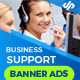 Support & Business Banner Ads