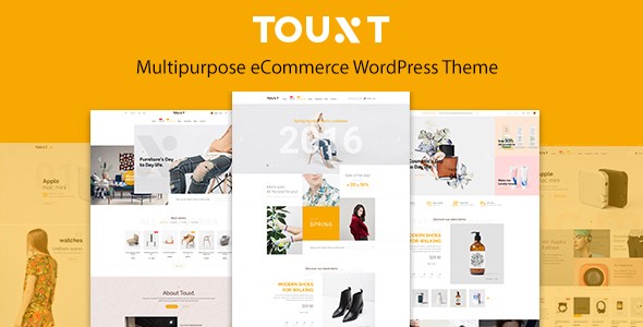 Touxt Multipurpose WooCommerce WordPress Theme