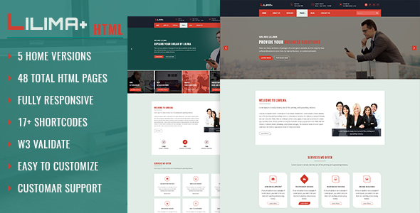 Lilima Business Template