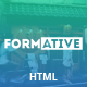 Formative - Creative One Page Parallax Template
