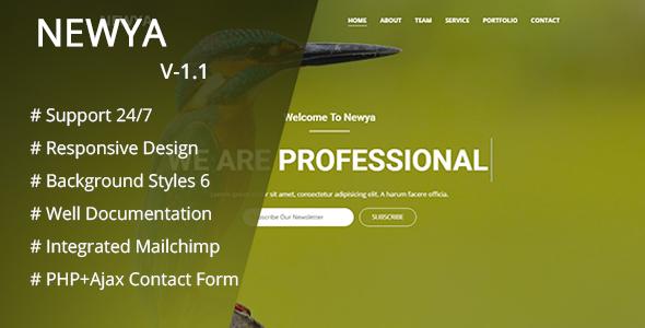 Newya - Responsive Business Template
