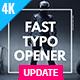 Fast Typo Opener