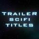 Trailer SCI-FI Titles