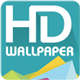 HD Wallpaper with Material Design