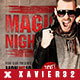 Magic Night Flyer PSD Template