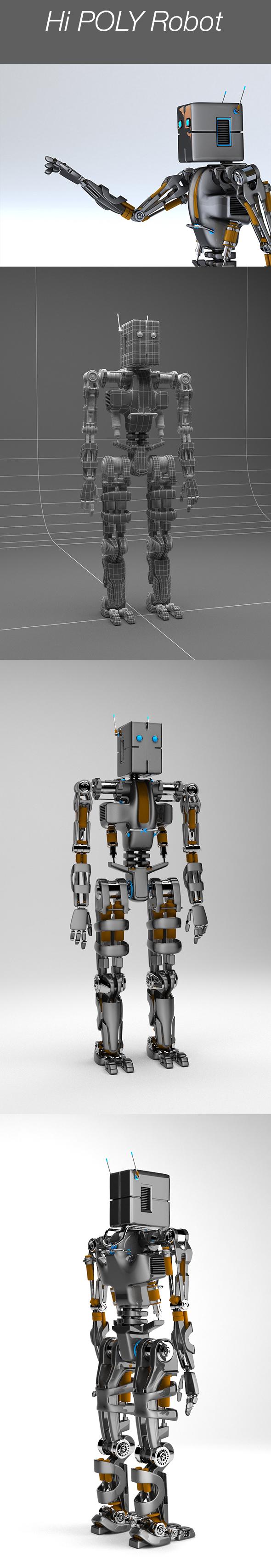 3docean Robot 19682046