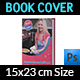 Cooking Book Cover Template Vol.3