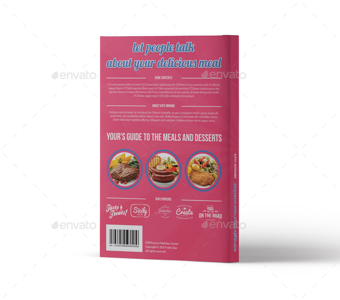 Graphicriver Book Cover Template Vol ~ Cooking book cover template vol by owpictures graphicriver
