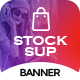 Stocksup | Shopping HTML 5 Animated Google Banner