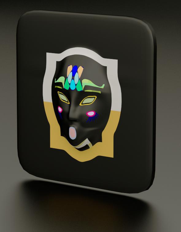Decoration Mask - 3DOcean Item for Sale