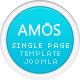 AMOS – Template for Joomla