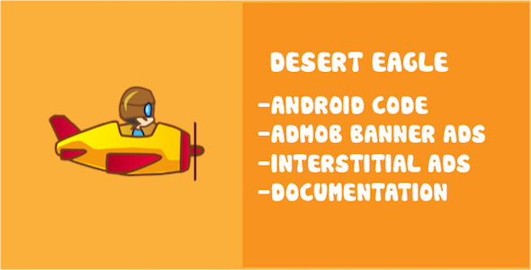CodeCanyon Desert Eagle Buildbox Game Template for Android And IOS 19683397