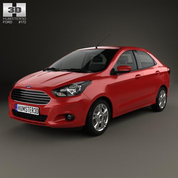 Ford Ka sedan 2014 - 3DOcean Item for Sale