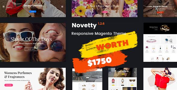 Novetty - Fastest & Most Customizable Magento 2 Theme
