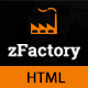 zFactory - Industry and Construction Responsive HTML5 Template