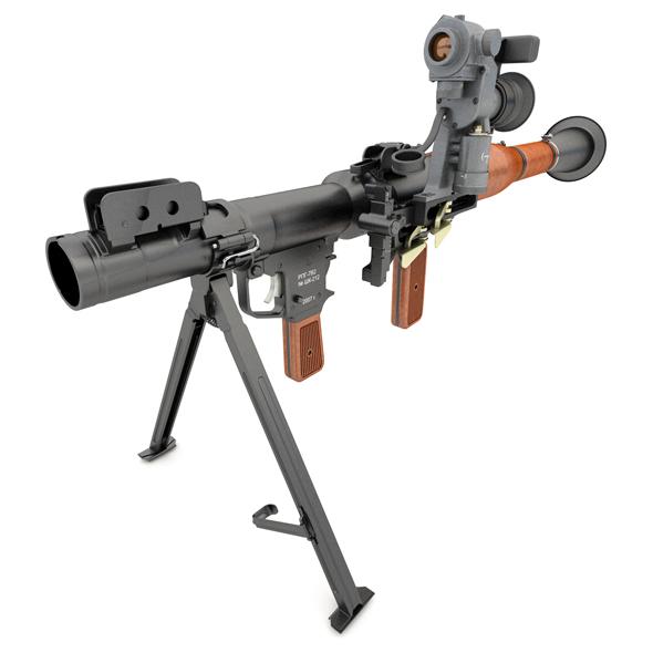 3DOcean RPG-7 V2 grenade launcher 19685999