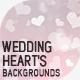 Wedding Heart's Backgrounds