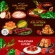 Malaysian Cuisine Restaurant Banner Set Design