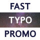 Download FCP Fast Typo Promo from VideHive