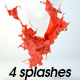 4 splashes