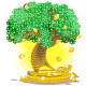 gold money tree - GraphicRiver Item for Sale