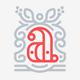 Letter A Crest Logo
