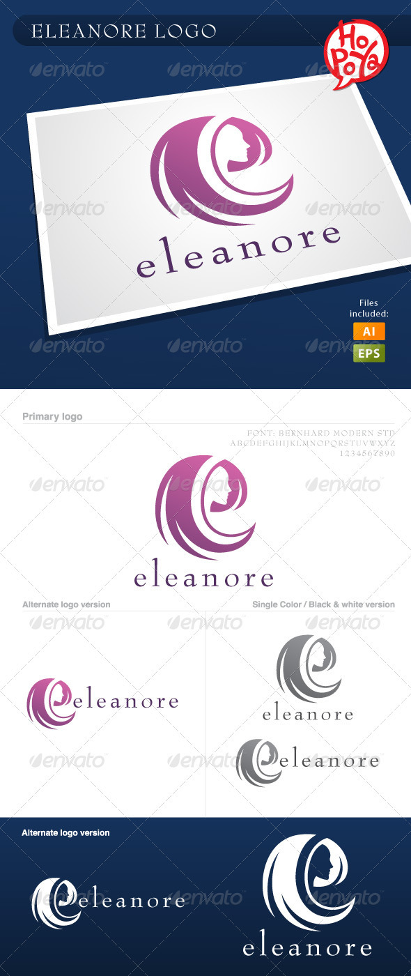 Eleanore Logo - Letters Logo Templates