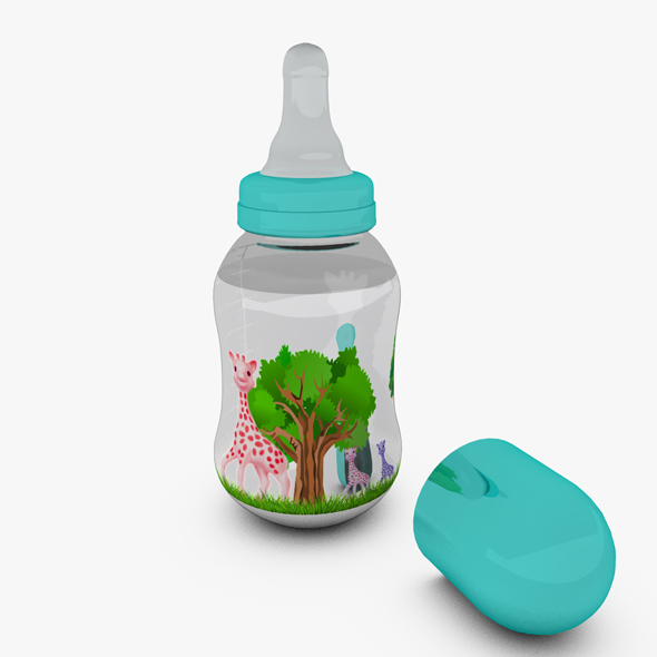 3DOcean Baby Bottle 19688010