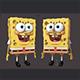 Sponge Bob 3D Model (Rigged)