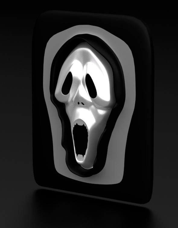 3DOcean Decoration Scream Mask 19688395