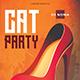 Cat Club Flyer