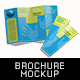 Double Gate Fold Brochure Mock-Up