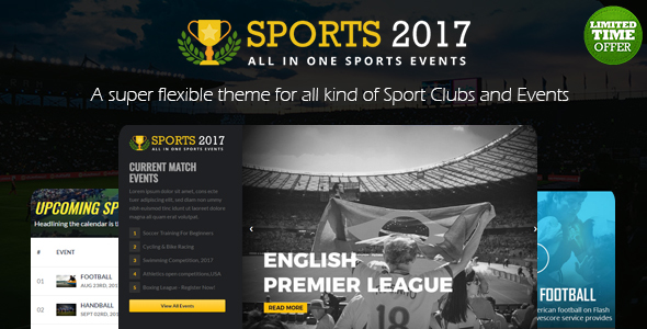 True Sports Club: All In A single Sports Template (Events)