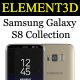 Download Element3D - Samsung Galaxy S8 Collection from 3DOcean