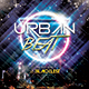 Urban Beat CD Cover Template