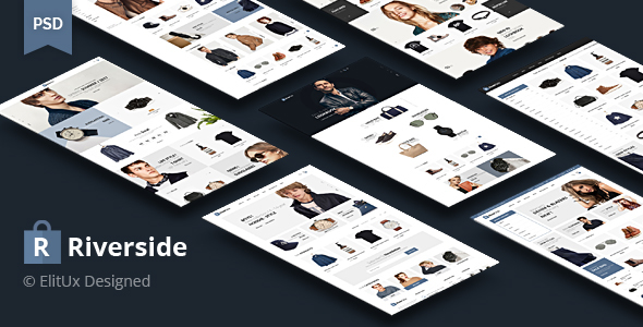 Riverside - Fashion Ecommerce PSD Template