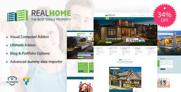 Single Property | Single & Multipurpose Property WordPress Theme