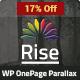 Rise | One page Parallax WordPress Theme
