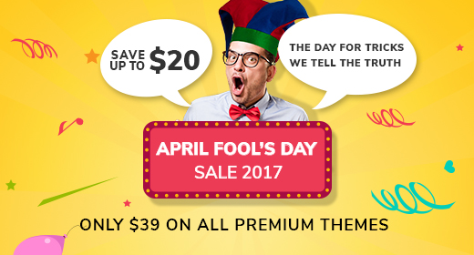 April Fool Sale