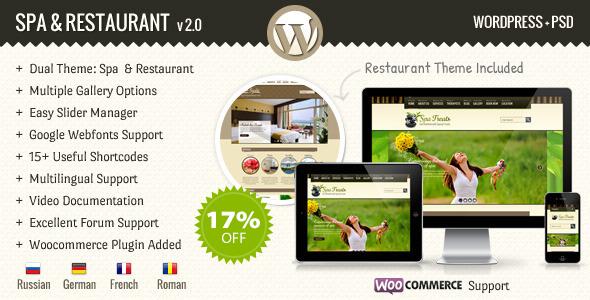 SPA Treats - Spa & Health Resort WooCommerce Theme