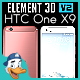 HTC One X9 for Element 3D