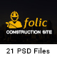 Folic Construction PSD Template