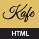 Kafe - Restaurant, Cafe, Food Responsive HTML5 Template